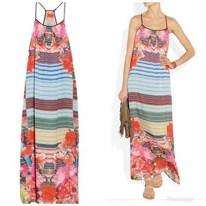 Crepe de Chine Dress by Clover Canyon